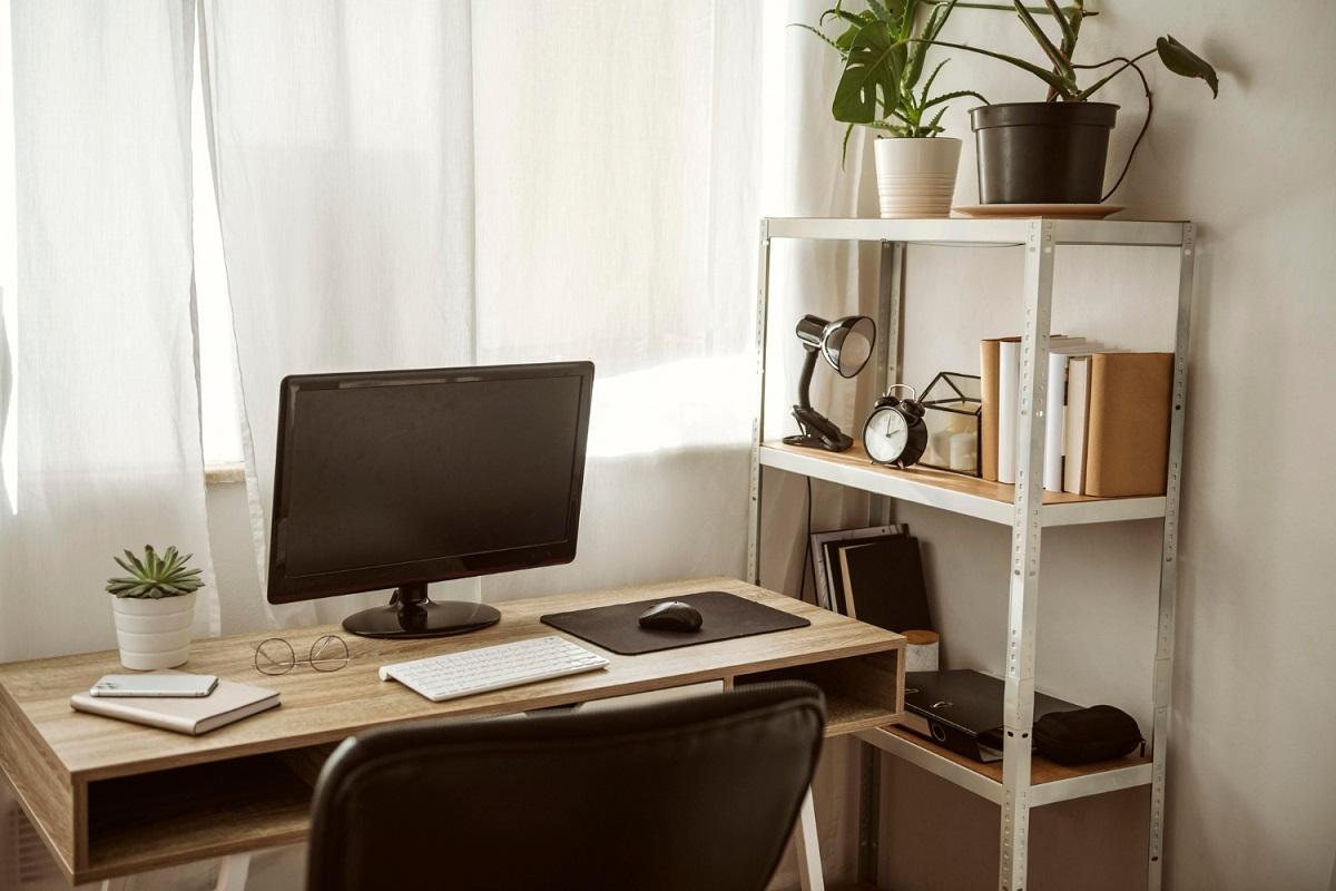 Poriadok v home office