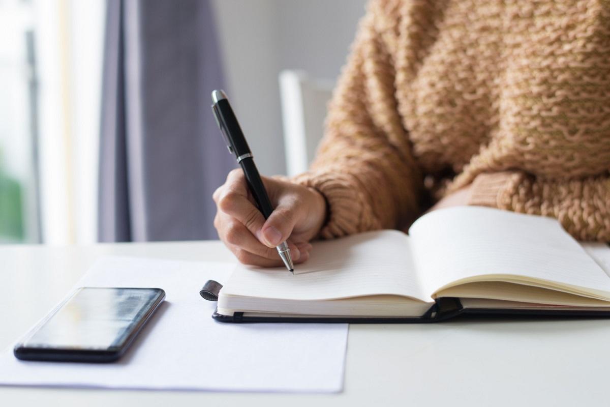 Písanie denníka